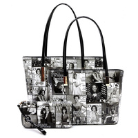 Magazine Cover 3-in-1 Tote Set