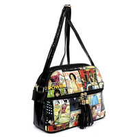 Multi Compartment Crossbody Bag