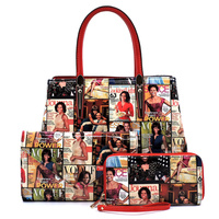Magazine Cover Collage 3-in-1 Satchel