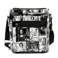 Magazine Crossbody Bag