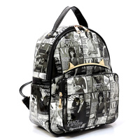 Magazine Cover Collage  Backpack