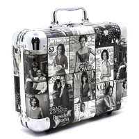 Magazine Cover Collage Cosmetic Case
