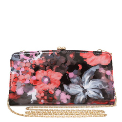 Fashion Flowert Print Clutch Bag