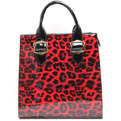Fashion Handbag With leopard Print