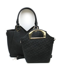 2 IN 1 TOTE DESIGN HANDBAG