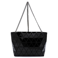 Geometric Checker Crossbody Bag Clutch