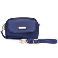 Front Pocket Zip Crossbody Bag