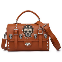TWIST- LOCK SUGAR SKULL BAG