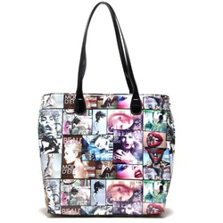 Fashion Handbag (with magazine print)
