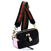 Colorblock Convertible Boxy Crossbody Bag & Fanny Pack