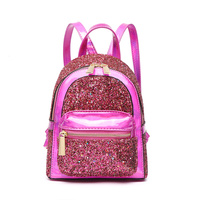 Metallic Glitter Backpack
