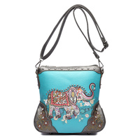 WESTERN ELEPHANT CROSS BODYBAG