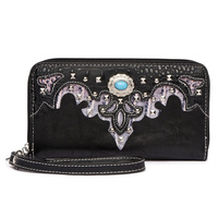WesternConcho Zip Around Wallet Wristlet