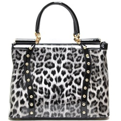 Fashion W/Leopard Print Handbag