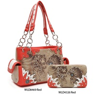 Western Handbag with Wallet