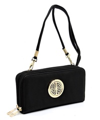 Fashion Logo Crossbody Wallet