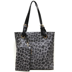 Fashion Tote with Leopard print Handbag
