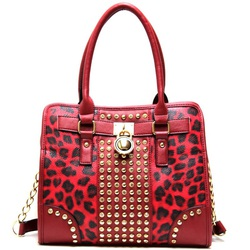 Leopard print Wholesale Fashion Handbag