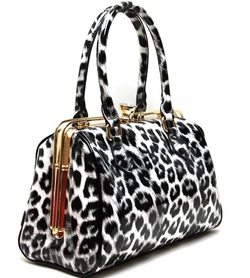 WHOLESALE FASHION HANDBAG w/ cheetah print