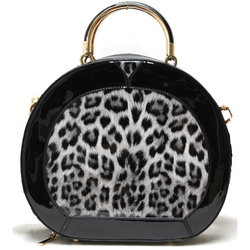 Fashion Leopard Print Handbag