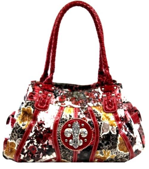 Fleur de Lis Western Handbag